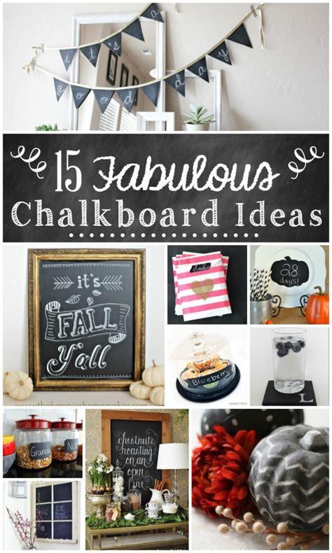 chalkboard in kitchen ideas 15 fabulous chalkboard ideas the turquoise home
