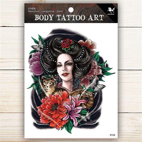 Body Tattoo Aufkleber by Body Tattoo Sticker Waterproof Temporary Tattoo Rt08 Rt08