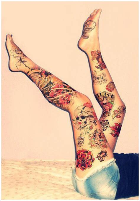 Kaos 3d Bw 150 thigh tattoos for mind blowing pictures
