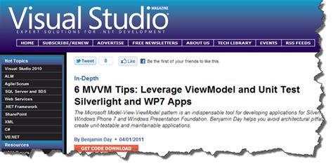 repository pattern viewmodel 6 model view viewmodel mvvm tips for unit testing