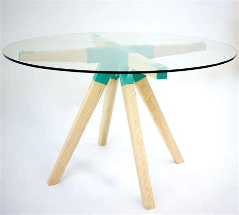 custom glass dining table buy a custom the modern glass dining table