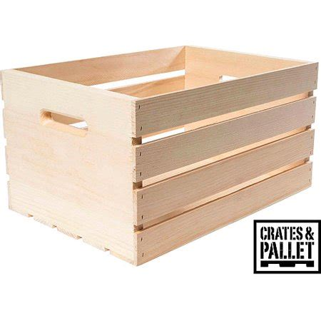crates and pallet large wood crate walmart.com