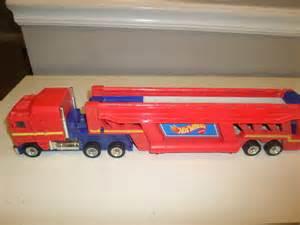 Wheels Transporter Truck 1986 Mattel Wheels Semi Truck Car Carrier Transporter