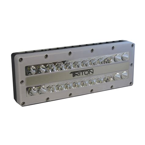120 volt light lumitec triton led surface mounting ip67 flood light 12