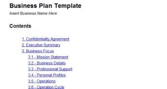 Detailed Business Plan Template Google Docs Templates For Web Designers And Developers