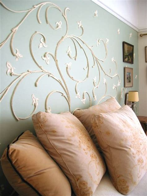 inspiration raised plaster wall design joint compound