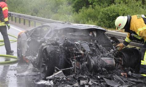 lamborghini engine swap lamborghini aventador burns to a crisp after engine swap
