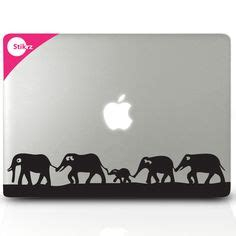 Apple Syari Kid mac decal vinyl laptop stickers wall computer geekery apple monkey removable decal 57 via etsy