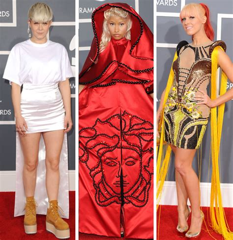 2008 Grammy Awards Worst Dressed by Gwen Stefani Cher More See The Worst Dressed