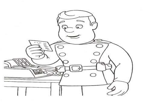 Download Coloring Pages Fireman Sam Coloring Pages Fireman Sam Colouring Page