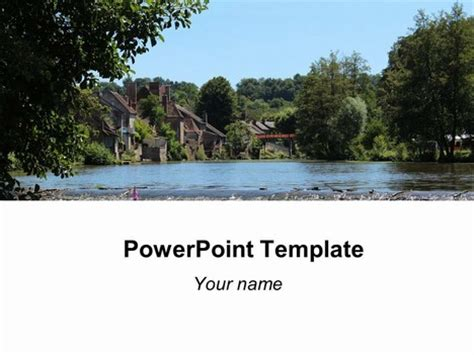 powerpoint themes river river background template