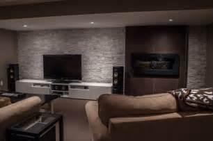 modern basements hansen modern basement toronto by allen interiors design center inc