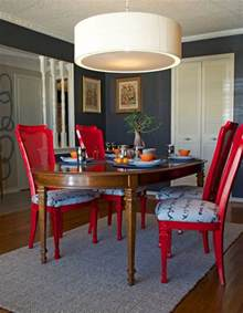How To Paint Dining Room Chairs by Diy Ideas Spray Paint And Reupholster Your Dining Room