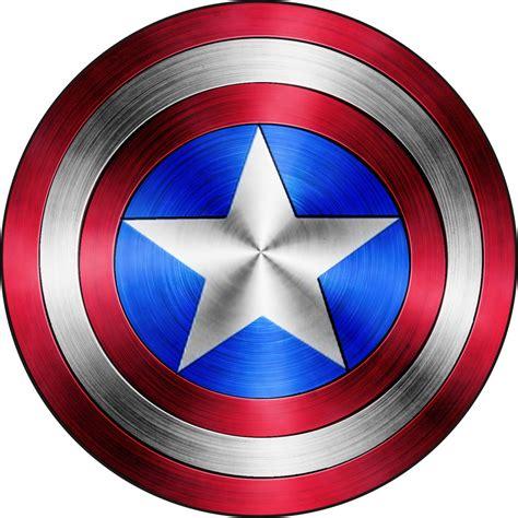 Captain America Shield Color Captain America Shield Vinyl Sticker Decal 18 Quot Full Color