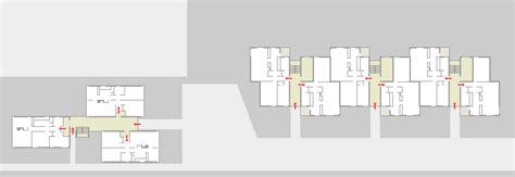 House And Floor Plan ham common flats modern architecture london