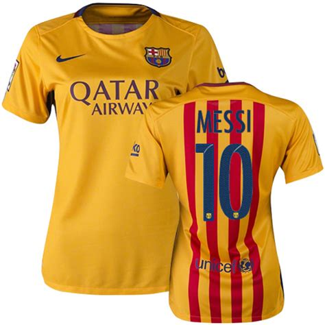 Barcelona Away 1516 For cheap lionel messi s home 15 16 barcelona soccer jersey
