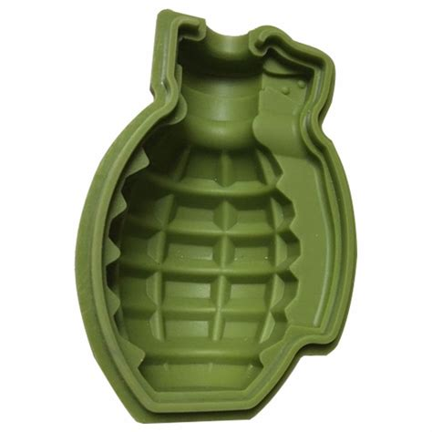P1151 Kitchen Tools Shape Silicone Mold Cube Mold Grenade Shape Silicone Gift Kitchen Tools