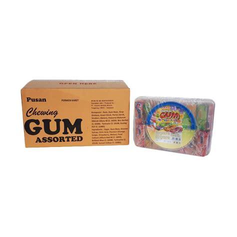 Permen Karet Doublemint Isi 5 jual daily deals pusan chewing gum assorted permen karet 1 dus harga kualitas