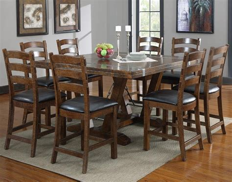 wood square dining tables dining room ideas