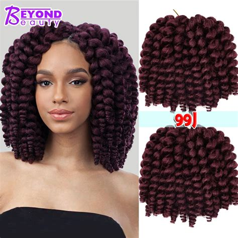 beauty supply stores that have crochet hair on a track aliexpress com buy fluffy bounce wand curls crochet hair