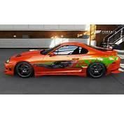 TURN 10 Quality Orange Toyota Supra Fast And Furious