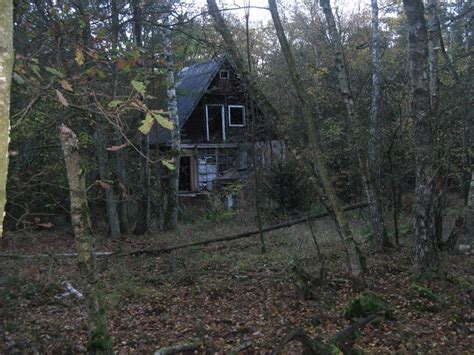 haus im wald panoramio photo of verlassenes haus im wald