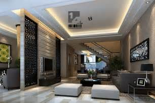 Modern Living Room Design by Modern Chinese Interior Design