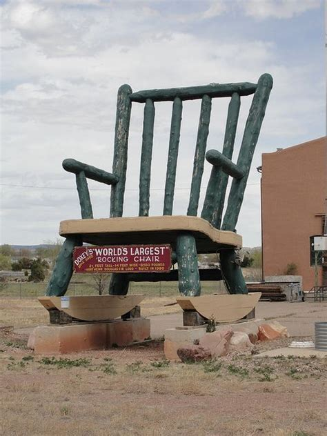 Worlds Largest Rocking Chair by Worlds Largest Chair Penrose Colorado I This