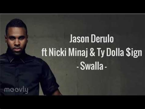 letra cancion tattoo jason derulo jason derulo swalla lyrics youtube