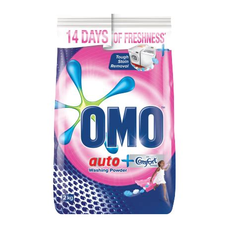 a touch of comfort omo auto washing powder with a touch of comfort freshness