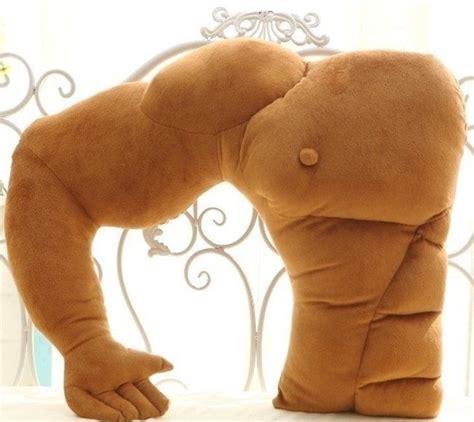 Boyfried Pillow by Boyfriend Arm Plush Cotton Pillow