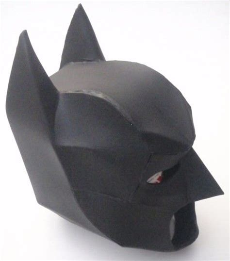 Papercraft Batman Mask - pepakura files batman and batman cowl on