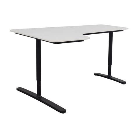 second corner desk 47 ikea ikea bekant white left corner desk tables