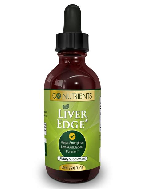 Thyroid And Liver Detox by Liver Edge Liver Cleanse And Detox Supplement 2 Oz