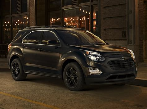 chevy equinox midnight edition chevrolet expands 2017 special edition quot bold quot suv