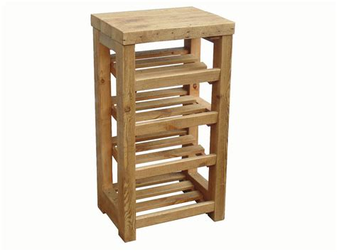 table with shoe storage rustic wooden shoe rack wood shoe shelf table top