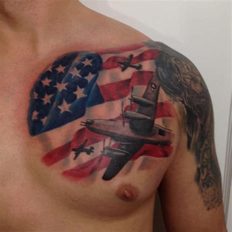 85 best patriotic american flag tattoos i love usa 2018