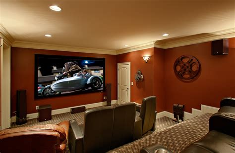gorgeous surround sound speaker stands in home theater traditional with room next to home