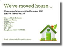 moving house cards template free moving house cards templates gallery template