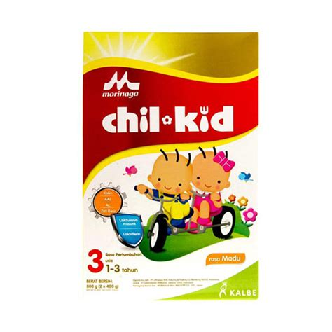 Chil Kid 3 Madu 800 Gr jual chil kid reguler madu formula 800 gr