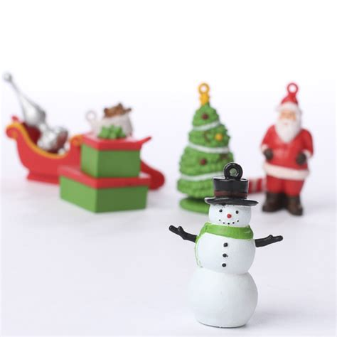 miniature christmas ornament figurines christmas