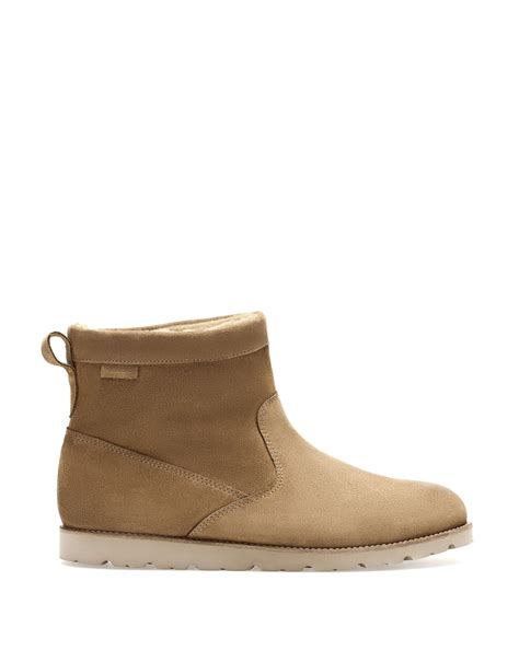 mens eskimo boots pull eskimo boots in beige for sand lyst