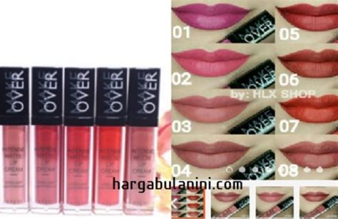 Harga Bedak Merk Makeover harga lipstik make terbaru september 2018