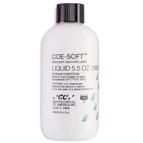 coe comfort coe comfort tissue conditioner professional package 6 oz