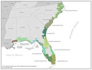 region iv coastal maps atlantic and gulf coast flood