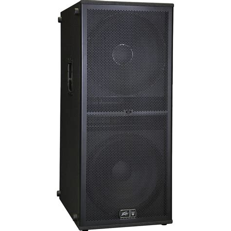 Sp Box peavey sp 218bx 2x18 quot subwoofer speaker system 03586570 b h