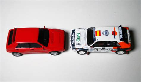 1 64 Kyosho Fiat Lanica Minicar Collection Fiat Coupe Yellow Die Cast cm s lancia delta