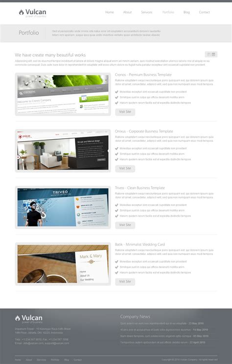 themeforest support themeforest vulcan minimalist business wordpress theme 4 v2 2