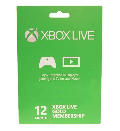 Can I Pay For Xbox Live With A Gift Card - new 1 year xbox live gold membership only 37 99