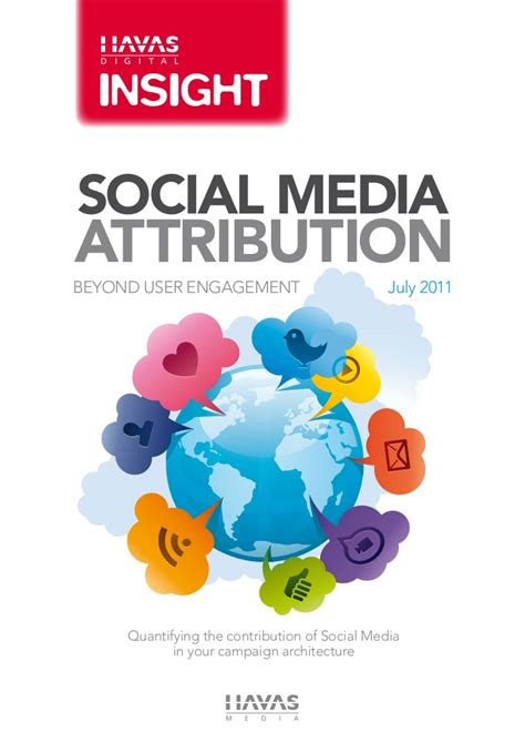 havas si鑒e social social media attribution havas digital insights